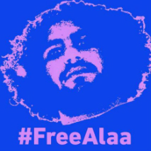 ¡Libertad para  Alaa! BY (Electronic Frontier Foundation)