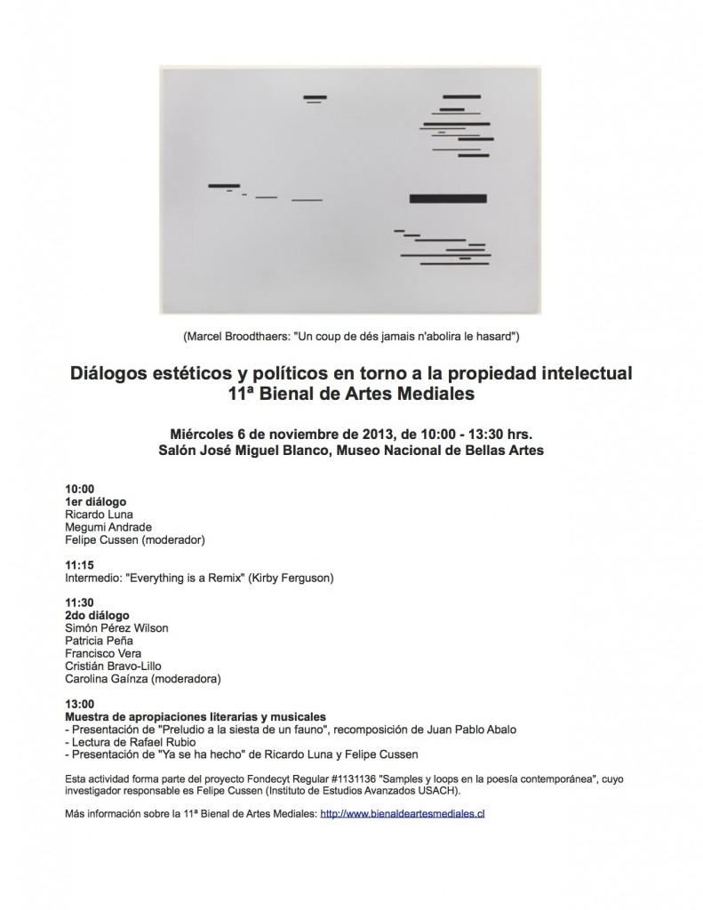 flyer diálogo