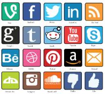 """""""""""Con su explosivo crecimiento los últimos años en Chile, las redes sociales son hoy un """"paso obligado"""" en cualquier investigación (policial"""". BY (stockdaledesigns)"""