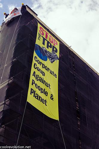 La oposición al TPP crece en todo el mundo. CC BY (cool revolution) NC - ND